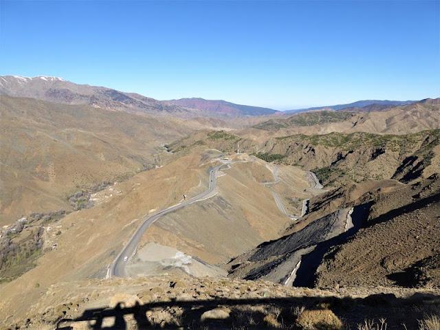 panorama dalla strada verso il Tizi-n-Tichka