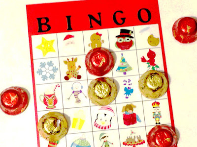 Enjoy a little whimsical fun at your Christmas party with this super cute Christmas bingo game.  This free printable game will have even the toughest party guest wanting to play and having a good time.