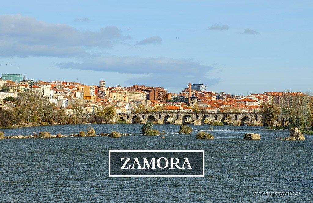 La Catedral, el Castillo y los puentes de Zamora