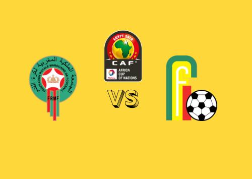 Marruecos vs Benín  Resumen