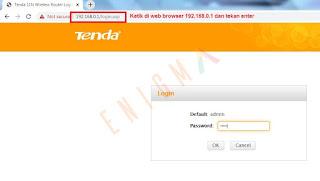 cara ubah router tenda n301 menjadi repeater