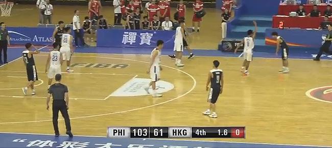 Batang Gilas def. Hong Kong, 103-61 (REPLAY VIDEO) FIBA U16 Asian Championship 2018