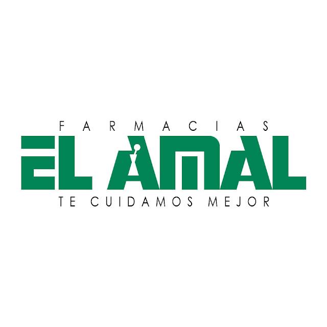 Logo de Farmacias El Amal.