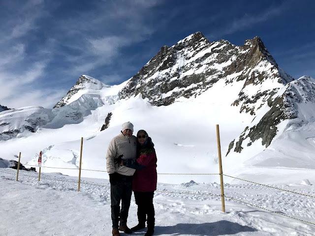 Jungfraujoch na Suíça