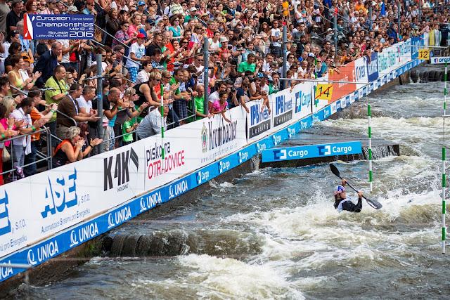 PIRAGÜISMO - Campeonato de Europa aguas bravas 2016 (Liptovský Mikuláš, Eslovaquia)