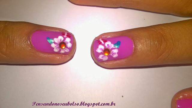 Unhas da semana: Orquídea - Avon Colortrend