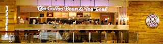 Newly re-opened The Coffee Bean & Tea Leaf at Bandaranaike International Airport