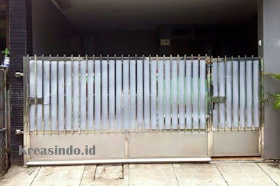 Jasa Pembuatan Pintu Pagar Stainless Minimalis di Jakarta dan sekitarnya