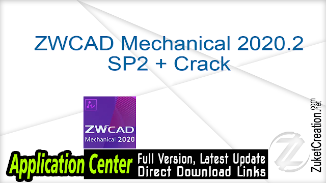ZWCAD Mechanical 2020.2 SP2 + Crack