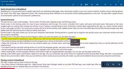 Inilah Pembaca Suara PDF (PDF Voice Reader) Gratis Untuk Windows 10