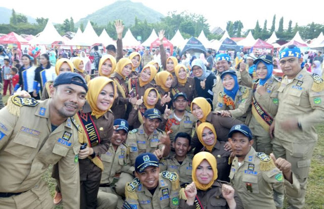 MB-GPLT Juara I Lomba Marching Band di Hari Jadi Luwu