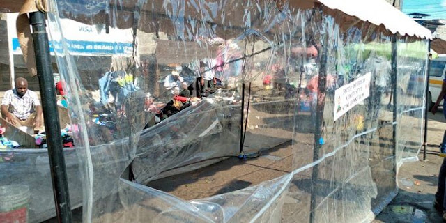 Sonko rescue team booths vandalised by the National  government