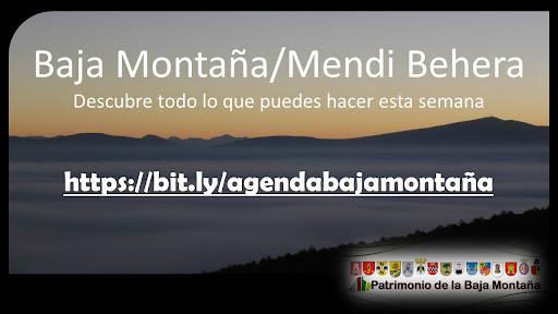 Agenda semanal de la Baja Montaña