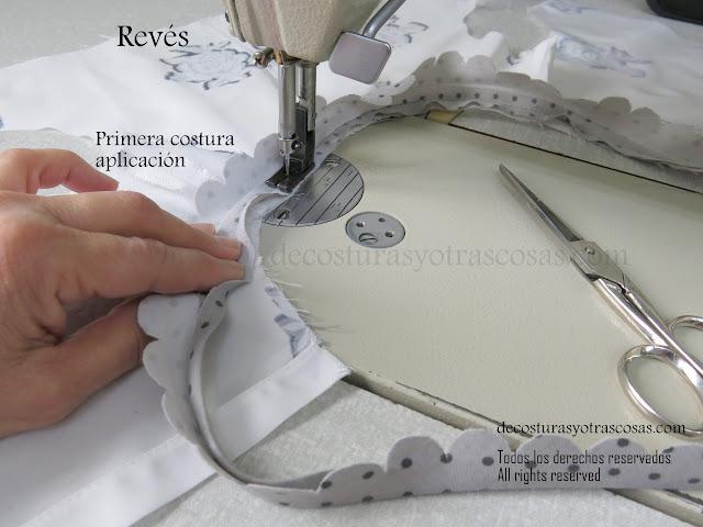 como coser bies correctamente