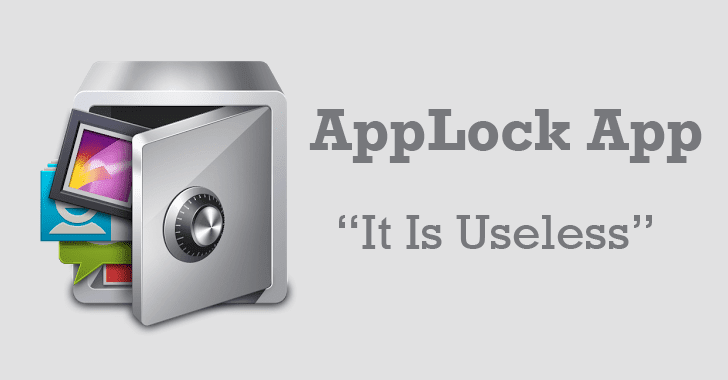 Using AppLock for Android to Hide Apps and Photos? — It's Useless
