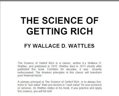 The Science of Getting Rich by Wallace Wattles Download eBook  in PDF