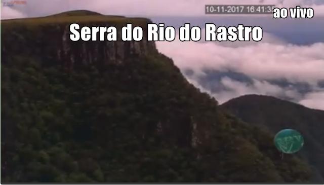 Câmeras ao vivo da Serra do Rio do Rastro