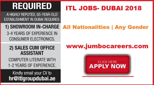 Job Vacancies at ITS Group Dubai