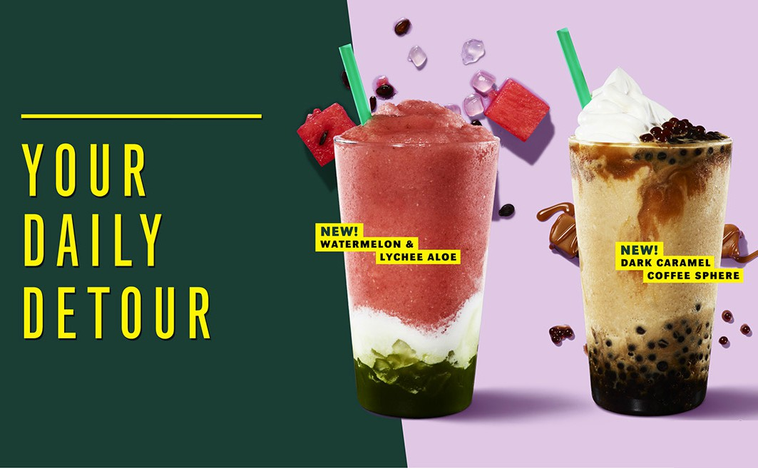 Hit pause and enjoy Starbucks newest summer beverages