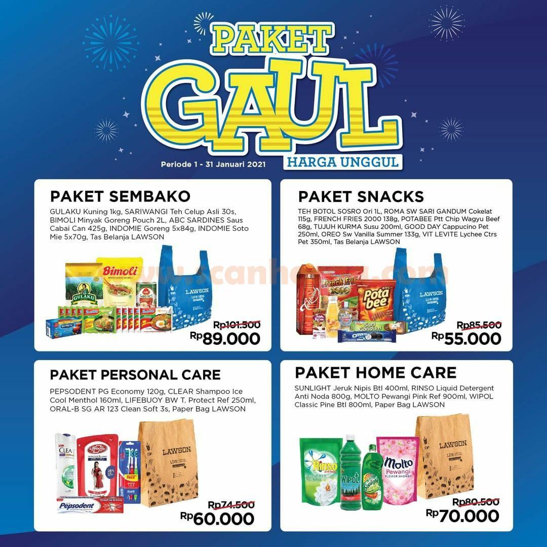 Lawson Promo Paket GAUL Periode 1 - 31 Januari 2021