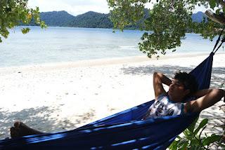 view pulau pagang padang sumatera barat