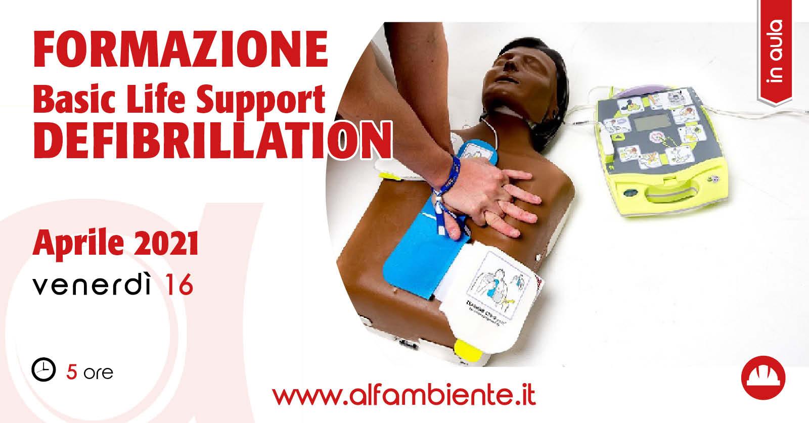 Formazione BLSD (Basic Life Support - Defibrillation)