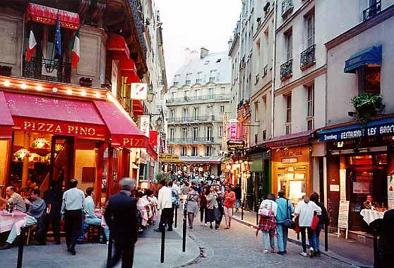 Bairro Quartier Latin em Paris