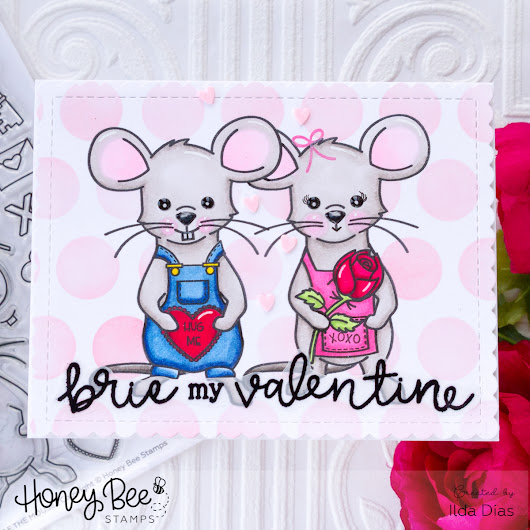 Brie My Valentines Day Card | Honey Bee Stamps