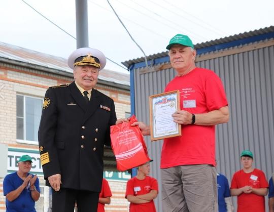 Адмирал В.А. Попов