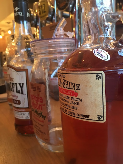 moonshine and bourbon at Stagolees Fulham