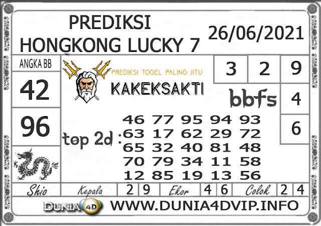 Prediksi Togel HONGKONG LUCKY 7 DUNIA4D 26 JUNI 2021