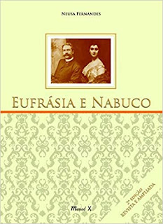 Capa do livro Eufrásia e Nabuco  - Matéria Vassouras - BLOG LUGARES DE MEMÓRIA