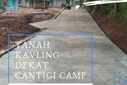 tanah kavling siap bangun tanpa BI Checking dekat cantigi camp Cileunyi Bandung Timur