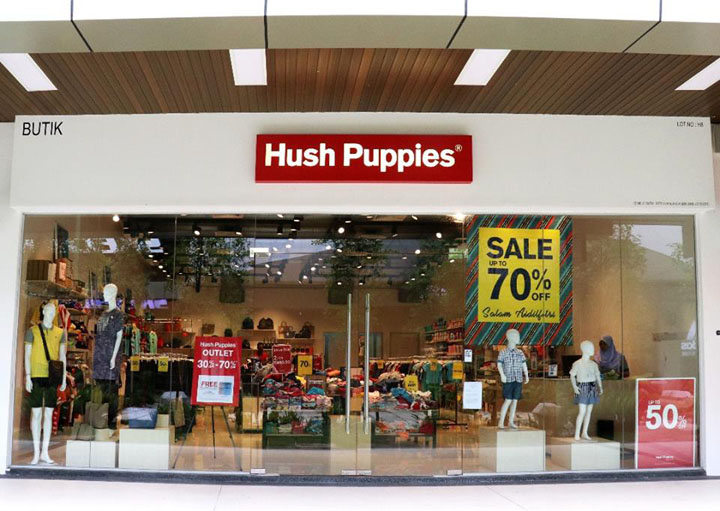 Outlet Hush Puppies Penang
