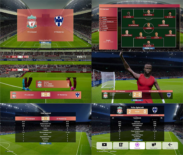 FIFA Club World Cup Scoreboard For PES 2020 by 1002MB