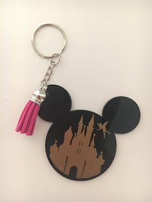 Handmade Disney Keychain