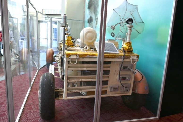 Ad Astra movie space buggy back