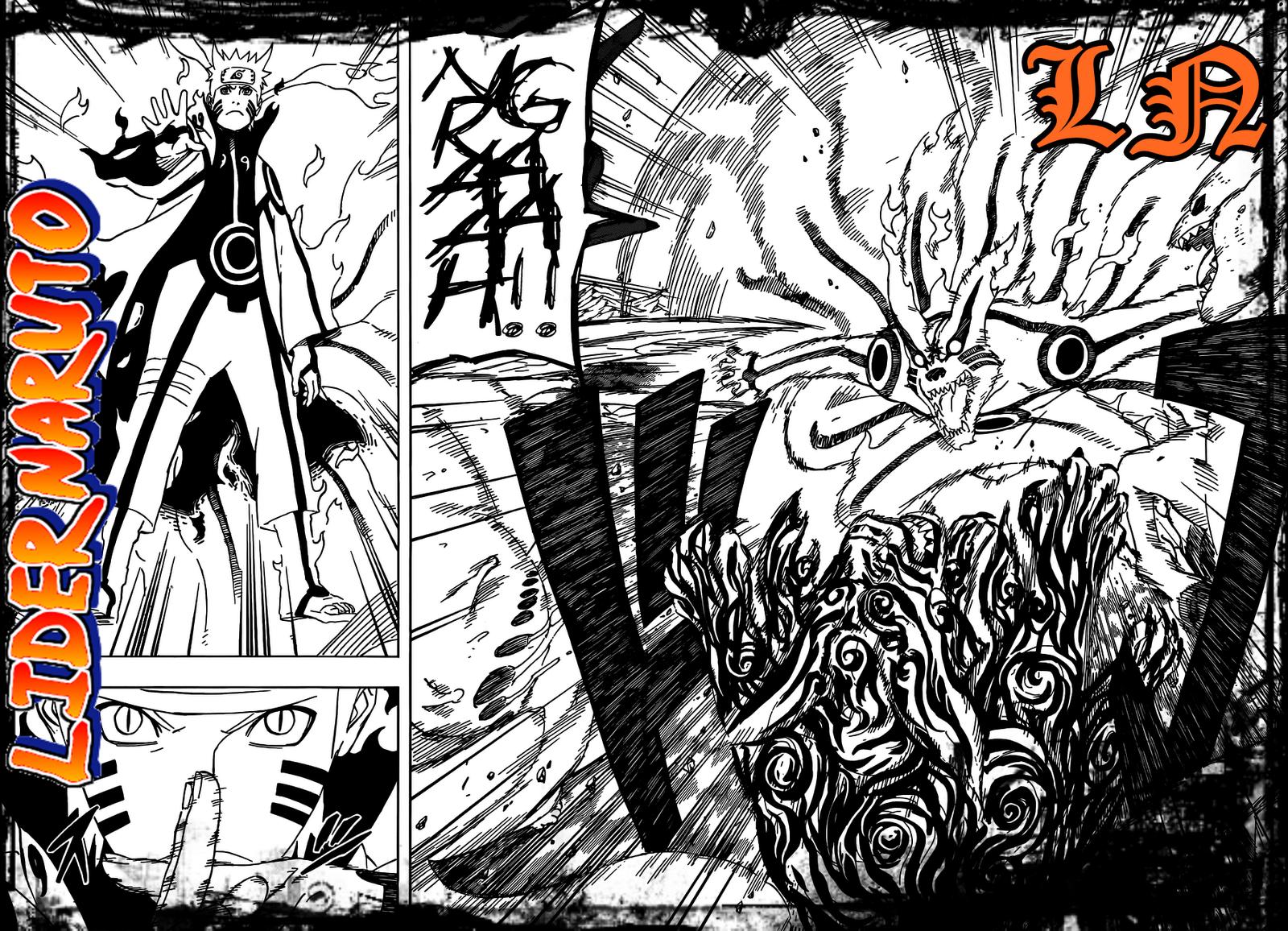 Wallpaper Wallpaper Naruto Biju Mode