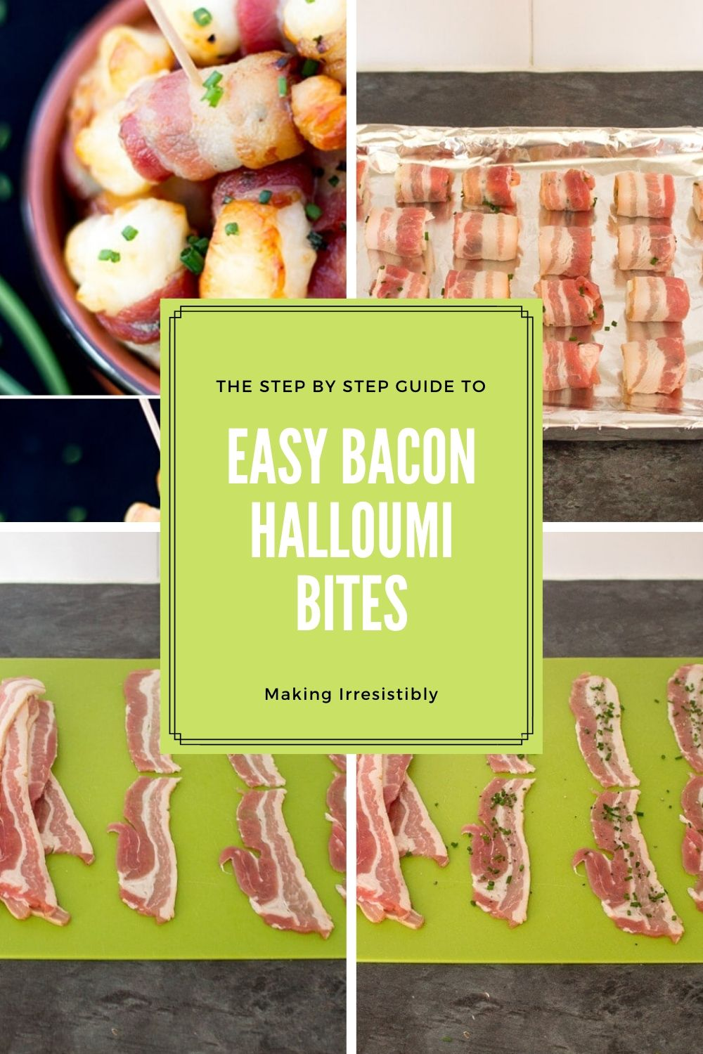 The Step by Step Guide to Making Irresistibly Easy Bacon Halloumi Bites