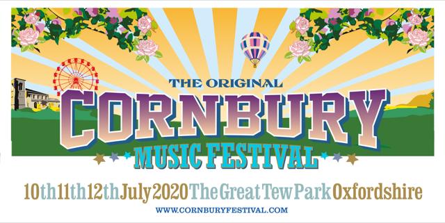 Cornbury Music Festival 2020 logo