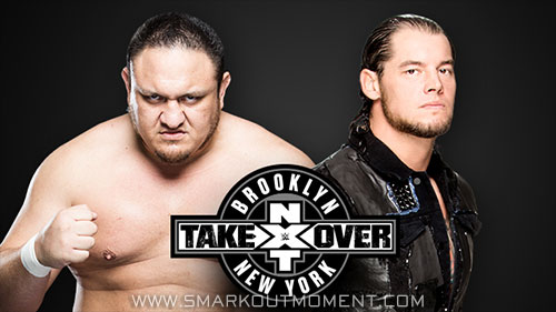 WWE NXT TakeOver Baron Corbin vs Samoa Joe Brooklyn