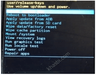 samsung a11 recovery mode