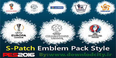 PES 2016 S-Patch Emblem Pack Style by rownlodcity.ir