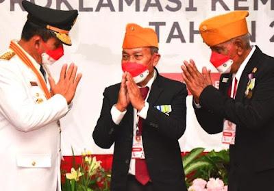 Veteran dan Warakawuri Dapat Tali Asih dari Pemprov Kepri