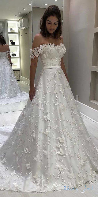 اجدد موديلات فساتين اعراس لعام 2020 ، تشكيلة فساتين اعراس مميزة لاناقتك سيدتي