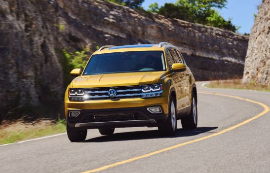 2018 Volkswagen Atlas V-6 4MOTION Review