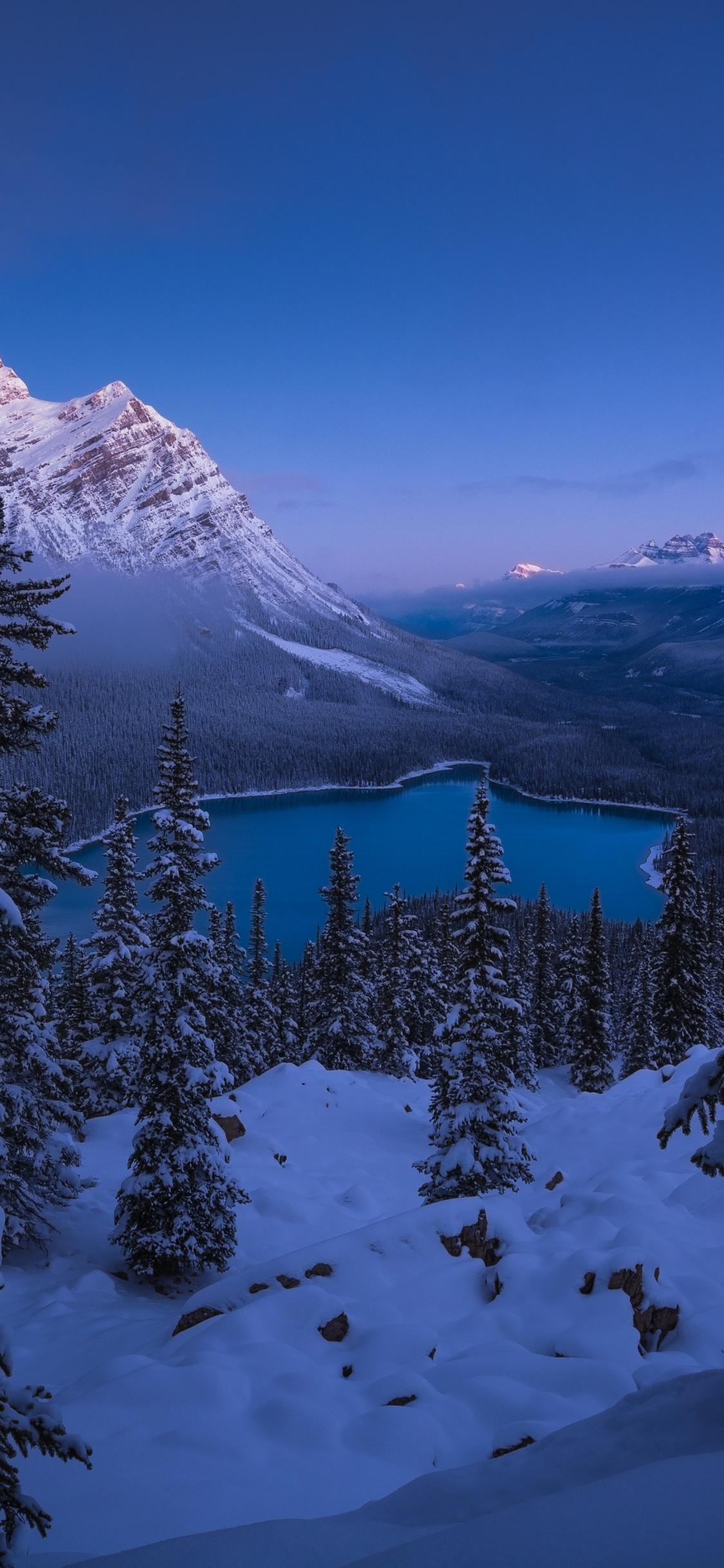 Banff National Park mobile wallpaper