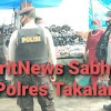 Sasar Pasar Sentral, Satuan Sabhara Polres Takalar Pantau Penerapan Prokes