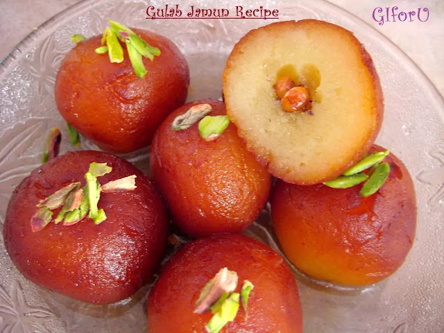 gulab jamun recipe-how to make gulab jamun recipe on GIforU