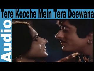 Tere Kooche mein tera deewana lyrics in hindi & English
